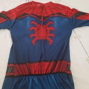 Spiderman kids costume size L